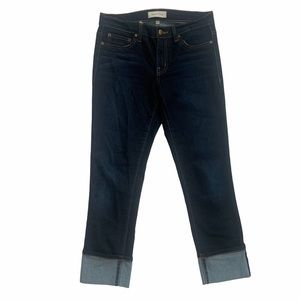 Henry & Belle Cropped Super Skinny Jeans Adriatic